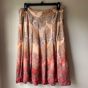 Emma James | paisley ombré skirt size 10
